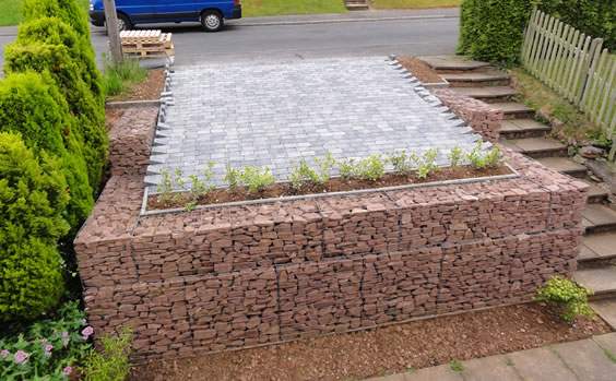 1000 images about gabion walls on pinterest Gabion wall design