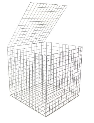 gabion basket 1mx1mx1m 4mm