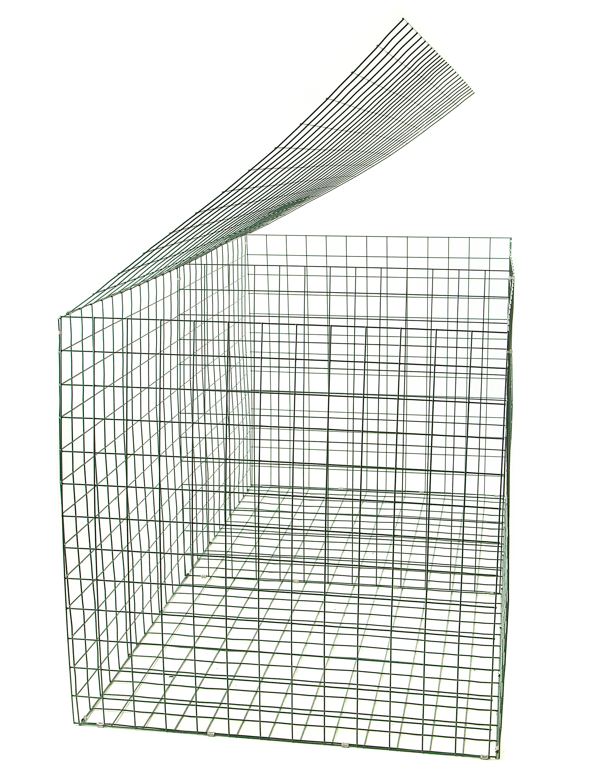 Gabion basket green pvc mm m gabians