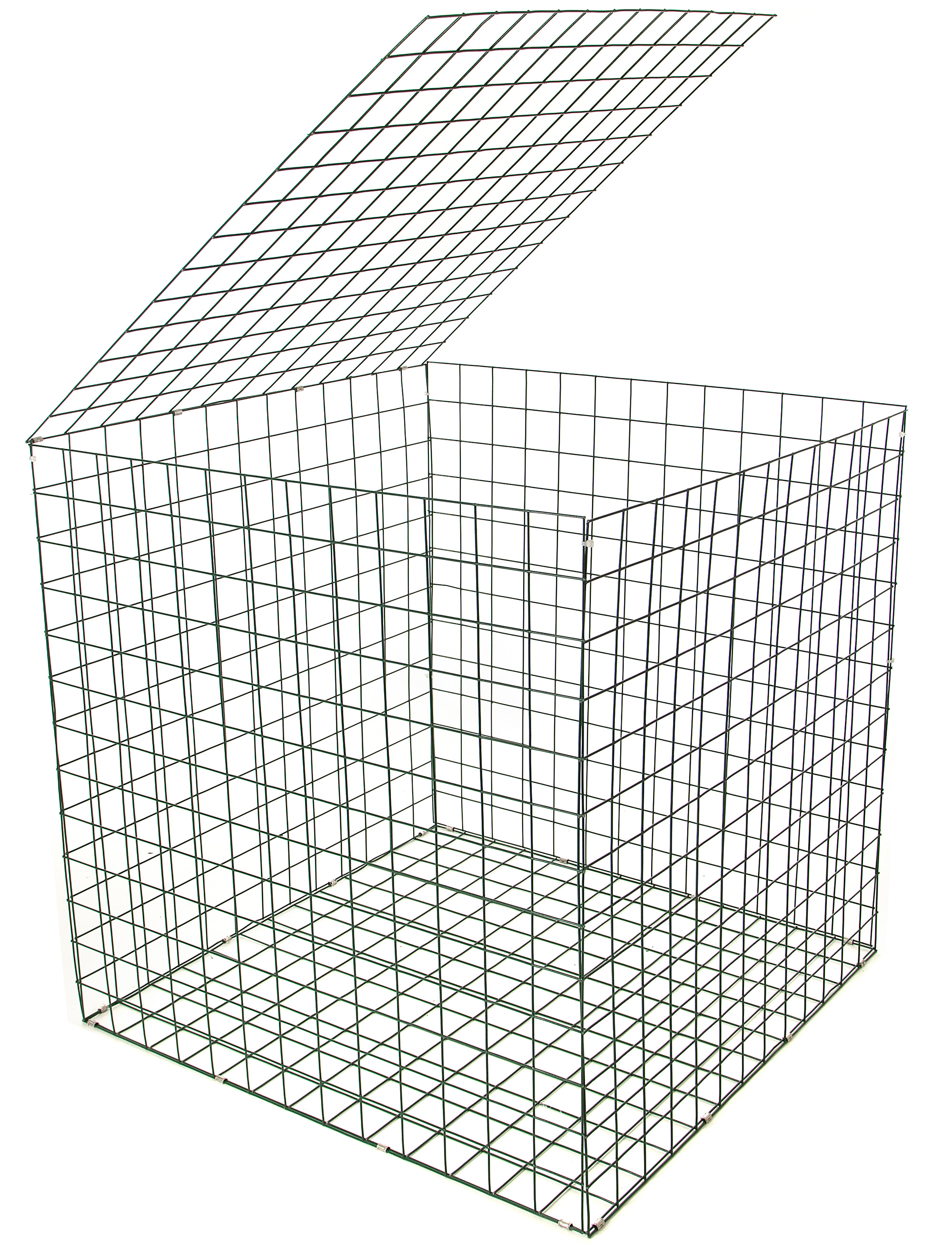 984gabion basket 1mx1mx1m green pvc gabion basket wall on wire gabion baskets