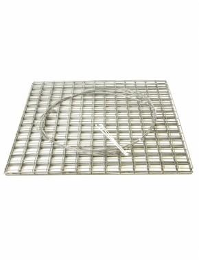 gabion basket 1mx1mx1m 4mm flat