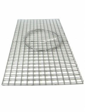 Gabion galfan 3mm 2m x 1m x 1m gabion basket for Fenetre 2m x 1m