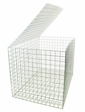 green gabion basket 1.5mx1mx1m