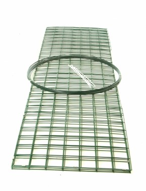 green pvc coated gabion baskets 2mx.5mx.5m
