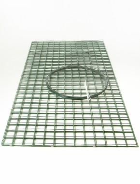 gabion green pvc 2m x 1m x 1m